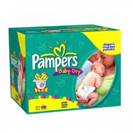 Pampers - Giga pack 286 Couches Premium Protection taille 1 sur Le roi de la couche