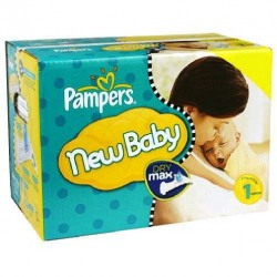 Pampers - Maxi giga pack 396 Couches Premium Protection taille 1