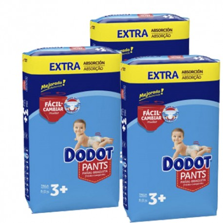 Dodot - Mega pack 192 Couches 0 taille 3+ sur Le roi de la couche