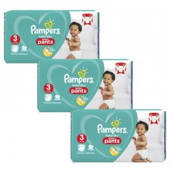 Pampers - Giga pack 285 Couches Baby Dry Pants taille 3 sur Le roi de la couche