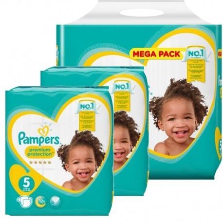 Pampers - Maxi mega pack 456 Couches Baby Dry Pants taille 3 sur Le roi de la couche