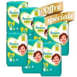 Pampers - Pack jumeaux 520 Couches Premium Protection taille 2 sur Le roi de la couche