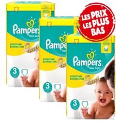 Pampers - Pack 29 Couches Premium Protection taille 3 sur Le roi de la couche