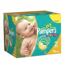 Pampers - Pack 87 Couches Premium Protection taille 3 sur Le roi de la couche