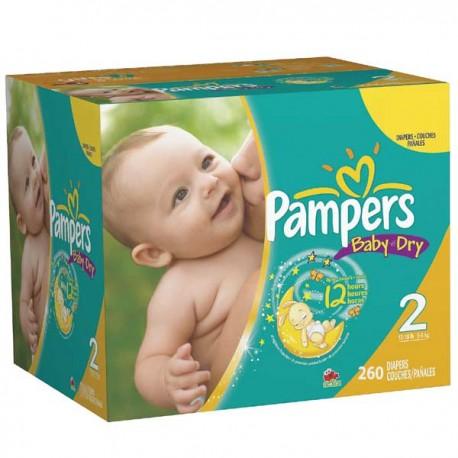 Pampers - Mega pack 174 Couches Premium Protection taille 3 sur Le roi de la couche