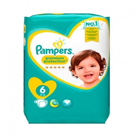 Pampers - Pack 52 Couches Premium Protection taille 2 sur Le roi de la couche