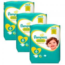 Pampers - Pack 72 Couches Baby Dry Pants taille 6 sur Le roi de la couche