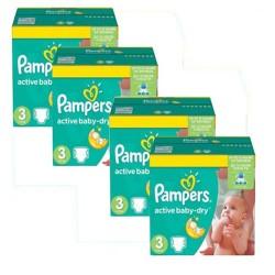 Pampers - Giga pack 270 Couches Premium Care taille 0 sur Le roi de la couche