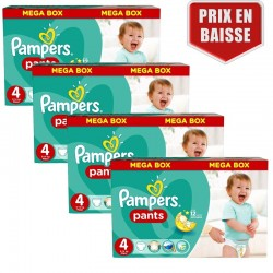 Pampers - Pack jumeaux 620 Couches Baby Dry Pants taille 4
