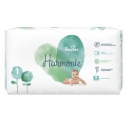 Pampers - Pack 68 Couches Harmonie taille 1