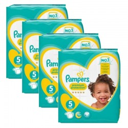 Pampers - Giga pack 280 Couches Premium Protection taille 5