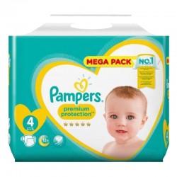 Pampers - Pack 24 Couches Premium Protection taille 4 sur Le roi de la couche
