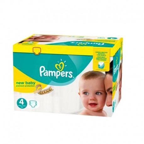 Pampers - Pack 96 Couches Premium Protection taille 4 sur Le roi de la couche