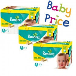 Pampers - Giga pack 264 Couches Premium Protection taille 4