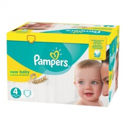 Pampers - Maxi giga pack 336 Couches Premium Protection taille 4