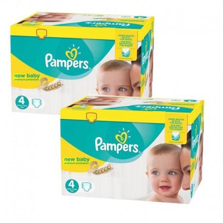 Pampers - Pack jumeaux 504 Couches Premium Protection taille 4 sur Le roi de la couche