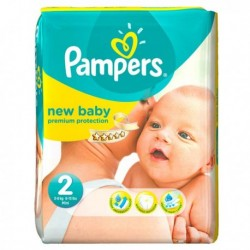 Pampers - Pack 31 Couches Premium Protection taille 2
