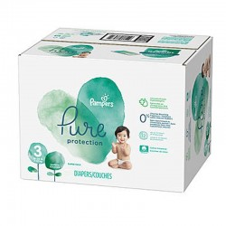 Pampers - Giga pack 220 Couches Pure Protection taille 3