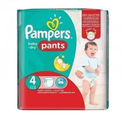 Pampers - Pack 30 Couches Baby Dry Pants taille 4 sur Le roi de la couche