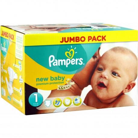 280 Couches Pampers New Baby Taille 1 Moins Cher Sur Le Roi De La Couche