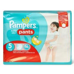 Pampers - Pack 96 Couches Baby Dry Pants taille 5 sur Le roi de la couche