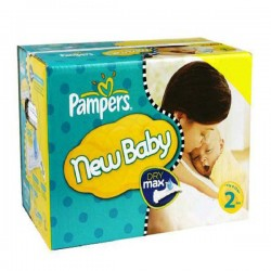 Pampers - 217 Couches New Baby Premium Protection taille 2