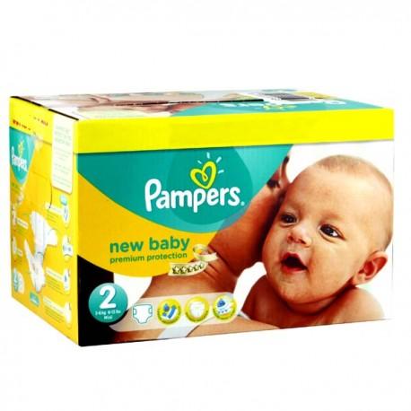 Pampers - 403 Couches New Baby Premium Protection taille 2 sur Le roi de la couche