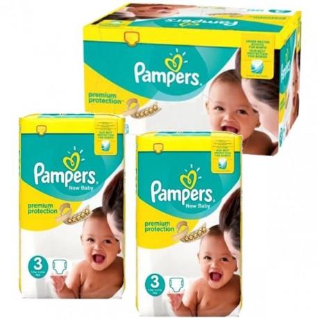 Pampers - 420 Couches New Baby Premium Protection taille 3 sur Le roi de la couche