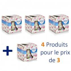 Febreze - Maxi Pack 4 Bougies Parfumées Flower Bloom - 4 au prix de 3 sur Le roi de la couche