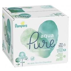 Pampers - 768 Lingettes Bébés Aqua Pure sur Le roi de la couche