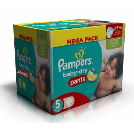 Pampers - 192 Couches Baby Dry Pants taille 5 sur Le roi de la couche