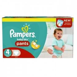 Pampers - Mega pack 120 Couches Baby Dry Pants taille 4 sur Le roi de la couche