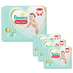 Pampers - Giga pack 228 Couches Premium Protection Pants taille 4