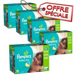 Pampers - Mega pack 115 Couches Baby Dry taille 5 sur Le roi de la couche