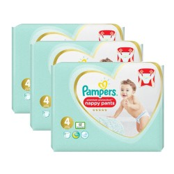 Pampers - Pack jumeaux 760 Couches Premium Protection Pants taille 4